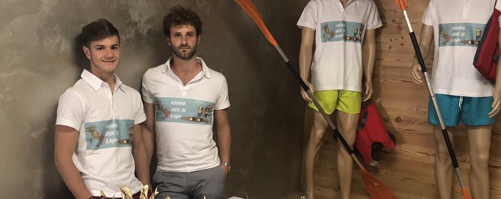 Da Venezia a Genova con il kayak  Giulio e Lorenzo lanciano la sfida
