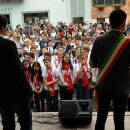 Rezia Cantat a Chiavenna, ottimo avvio con i 1.100 alunni del Meeting In Canto Junior