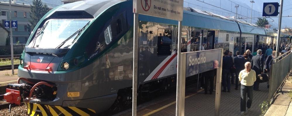 Treni, da fine anno cambia tutto  Tirano-Milano con nuovo gestore