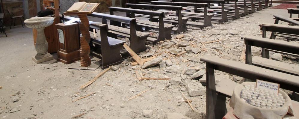 Santuario salvo, ma i danni a San Giacomo Filippo sono rilevanti