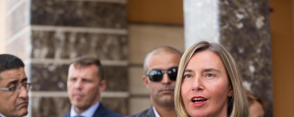 Libia: Mogherini, sostenere processo politico in corso