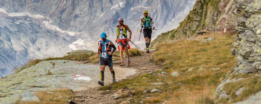 L'Ultra Trail in Valmalenco, al via 350 atleti