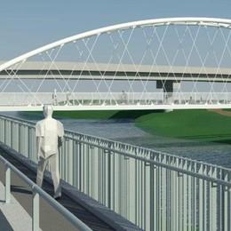 Il ponte verso il parco, consegnato il progetto: tempi ancora incerti a Sondrio