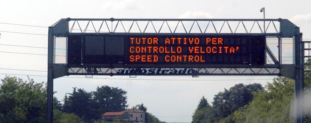 Autostrade: da oggi torna il Tutor  Ecco su quali tratte