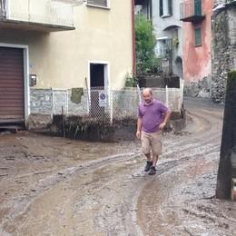 Frana dopo violento nubifragio  Grande colata di fango a Loreto