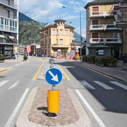 """Traffico da """"bollino rosso"""" a Sondrio"""