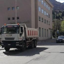 Viale Ambrosetti, lavori in partenza  Sette mesi di scavi e disagi a Morbegno