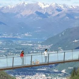 Dal ponte tibetano un progetto turistico per tutta la valle
