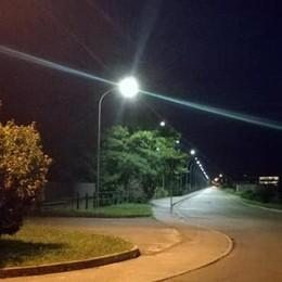 Illuminazione, nuova luce a Morbegno