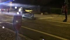 Scontro tra auto, paura sulla statale a Bianzone