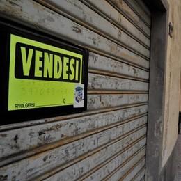 Serrande abbassate  Ecatombe a Chiavenna