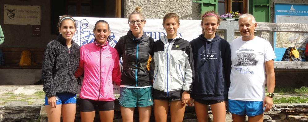 Corsa in montagna, Collinge domina la Fraciscio-Angeloga