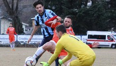 Calcio serie D, cresce l'attesa per il derby Sondrio-Lecco