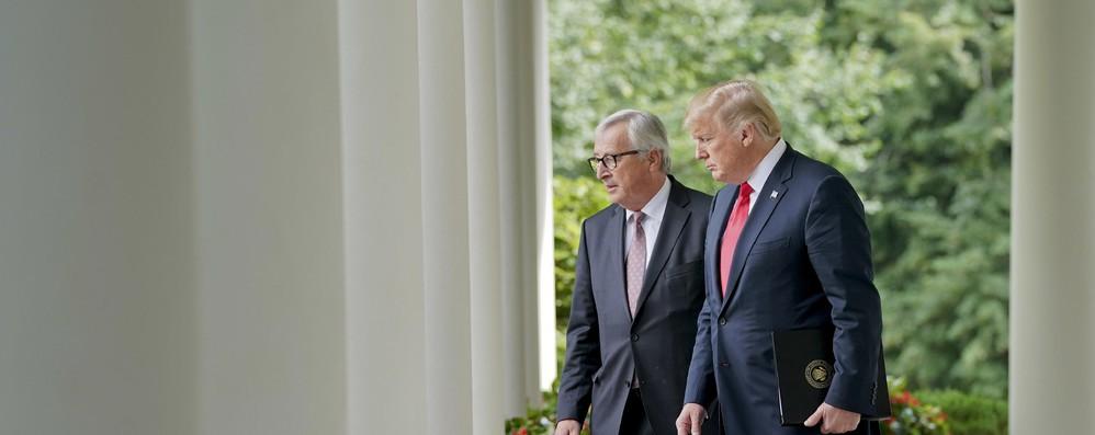 Dazi: continuano contatti Ue-Usa dopo incontro Juncker-Trump
