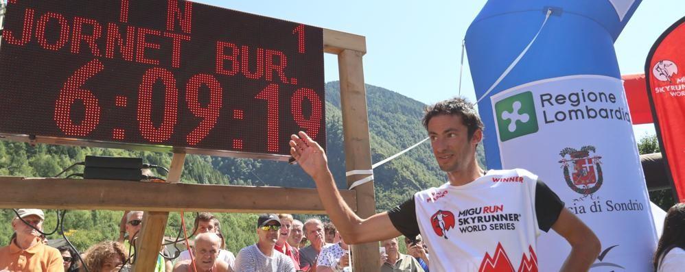 Corsa in montagna, Jornet signore del Trofeo Kima
