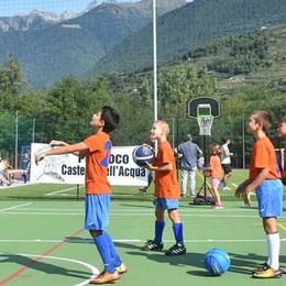 La prima partita al centro multisport  «Esaudito un sogno»