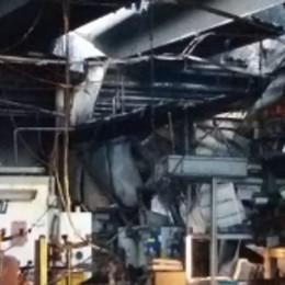 Incendio nella Mdl a Delebio, l'allarme scattato alle 5,30
