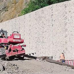 Statale 38, il cantiere a Desco  «Pista pronta entro 15 giorni»