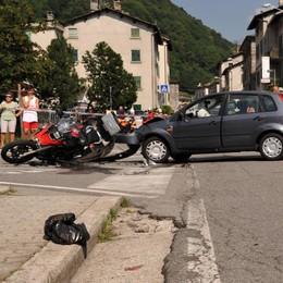 Moto, altra giornata nera: due gravissimi incidenti