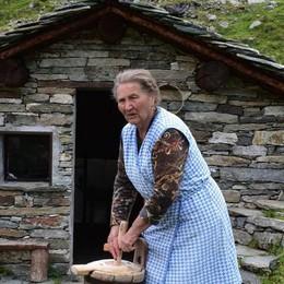 Tra i monti l'addio a Eulalia  La signora degli alpeggi