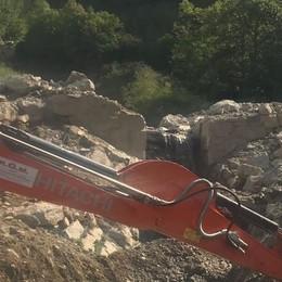 Frana in Val del Crosc da rimuovere  Il Comune sta cercando 170mila euro