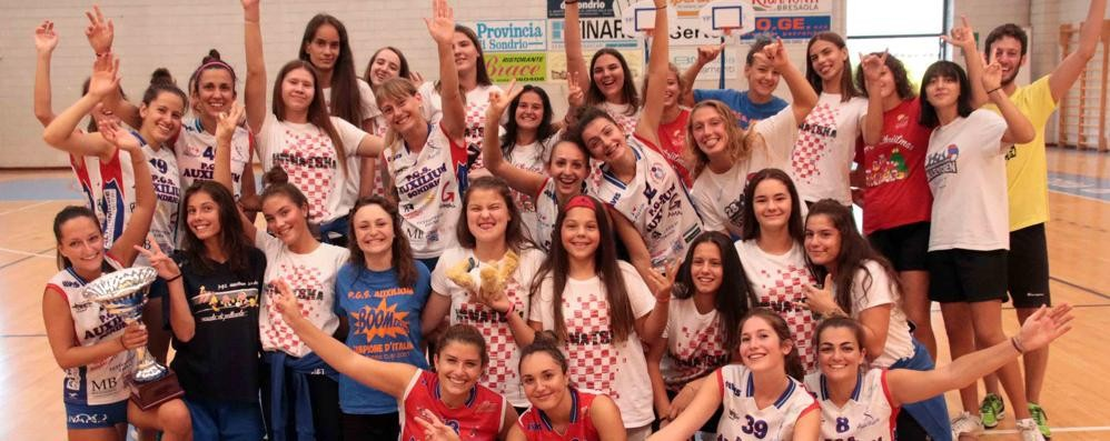 Volley open a Sondrio, trionfo Pgs sotto rete