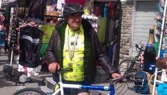 In bici allo Stelvio per festeggiare i propri 80 anni