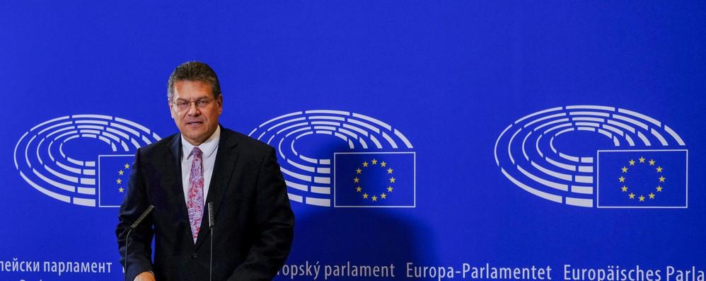 Sefcovic candidato presidente commissione Ue per gli S&D