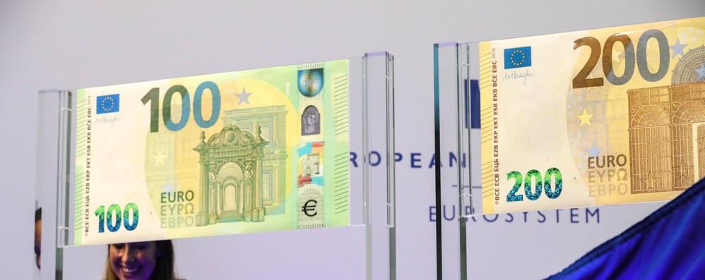In arrivo nuove banconote 100 e 200 euro anti-falsari