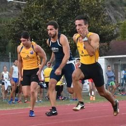 Atletica leggera, spettacolo nel meeting su pista a Sondrio