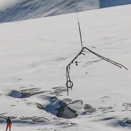 """Con """"Montagna Pulita"""" il vecchio skilift  se n'è andato... in cielo"""