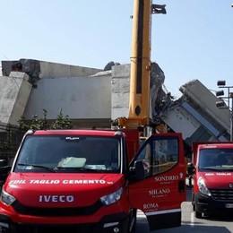 Il ponte Morandi, la Edil Taglio lo sta facendo a pezzi