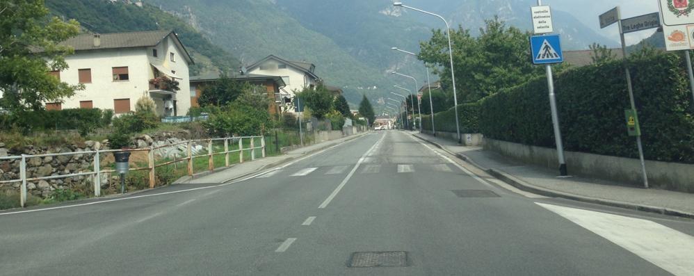 Rilevatore di velocità in via Volta  Il prefetto approva, Chiavenna lo piazza