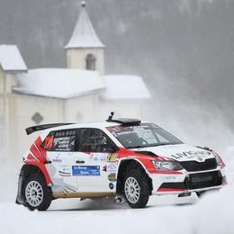 Automobilismo, Bormolini conquista la prima tappa del tricolore neve ghiaccio