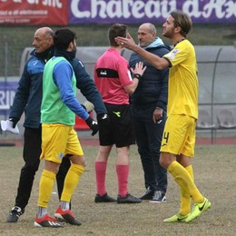 Calcio serie D, furia Sondrio contro l'arbitro: «È stata una vergogna»