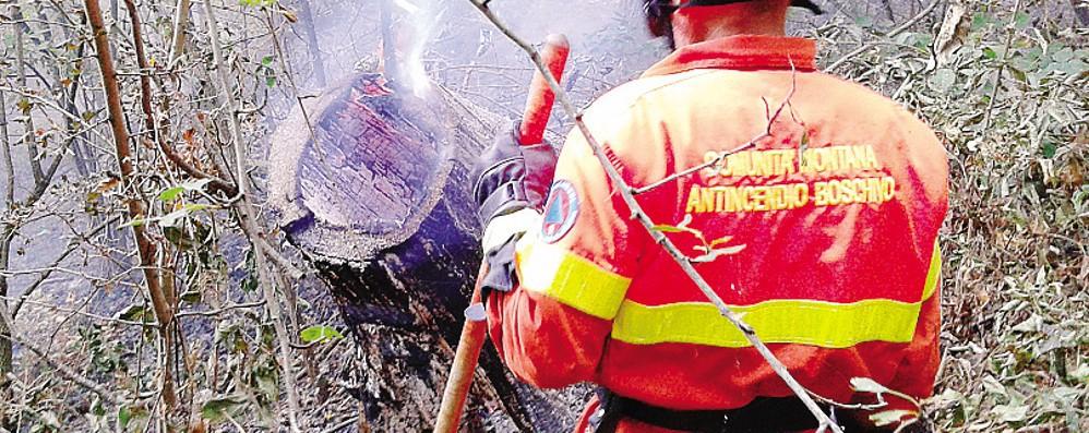 Allarme per gli incendi  Sono 300 i volontari  pronti a intervenire