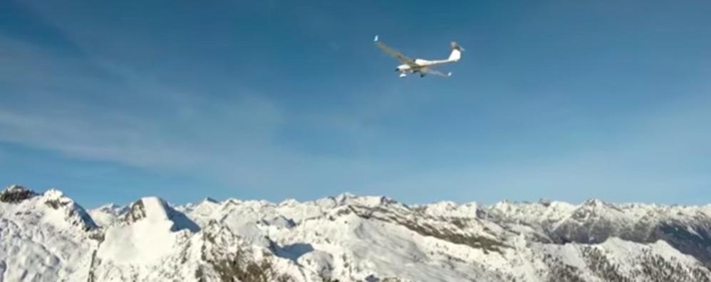 Drone da record, in volo per 98 km