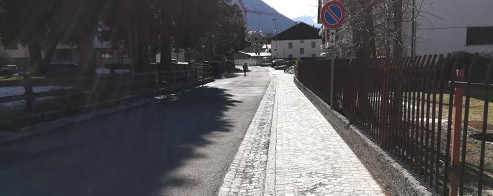 Presto una ciclabile lungo via Europa  La Valtellina pedala con la Valcamonica