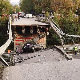 Crollo del ponte di Annone, la svolta   In arrivo la chiusura delle indagini