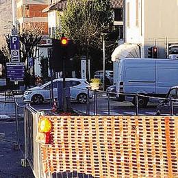 Largo Garibaldi adesso è al sicuro  Poteva aprirsi una pericolosa voragine