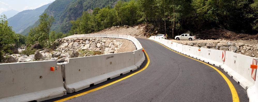 Gallivaggio, la strada aperta costa  Spesi 60mila euro per quattro mesi