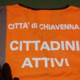 Chiavenna, gilet arancione e voglia di fare: «Cittadini attivi»