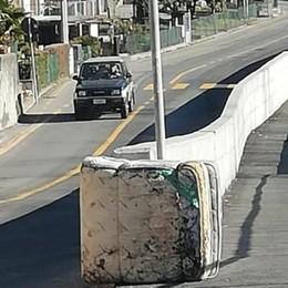 Morbegno, muro sull'Adda: ora c'è un materasso dove inizia l'argine