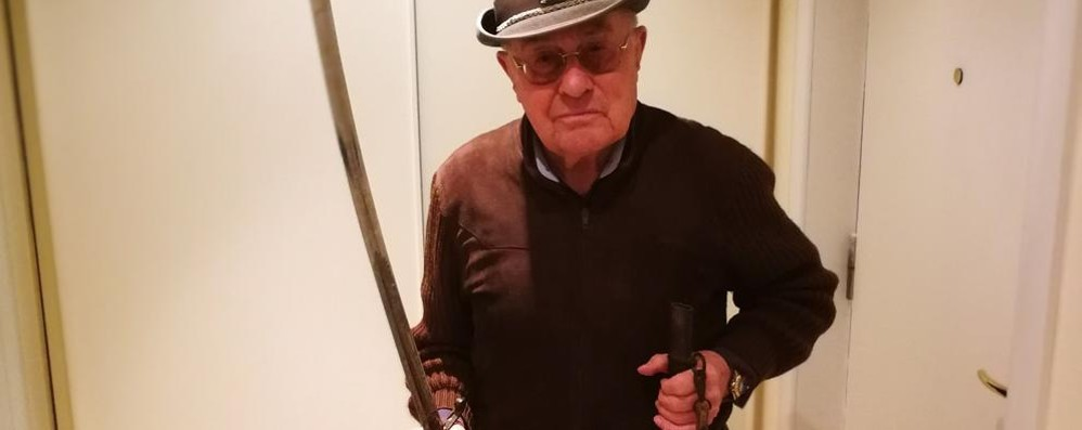 Sondrio, il bisnonno era uno dei Mille: «E questa è la sua spada»