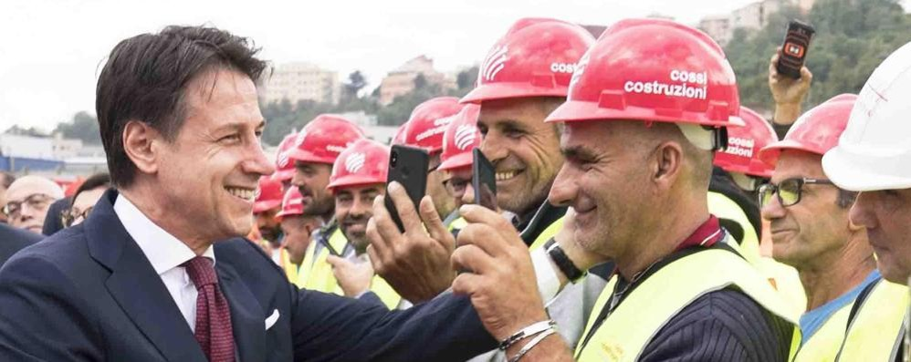 Ponte Morandi, l'orgoglio degli operai Cossi