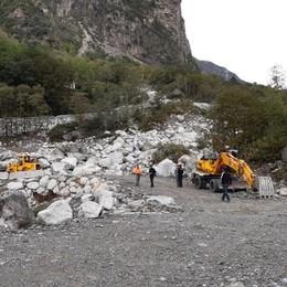 Trasporti: riaperta la statale 36 chiusa per frana a Gallivaggio