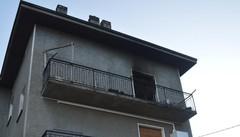 Traona, incendio all'alba: muore anziano