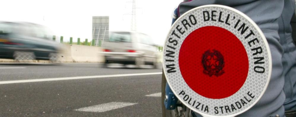Bus svizzero non regolare, maxi ammenda da 2mila euro