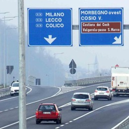 Incidenti stradali, netto calo a Morbegno