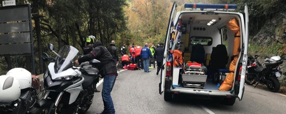 Bellagio, scontro al motoraduno  Due feriti: uno è gravissimo